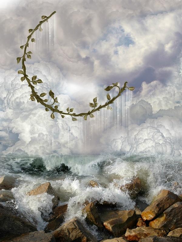 Морська піна  друк на полотні, натягнут UkrainArt - фото 1