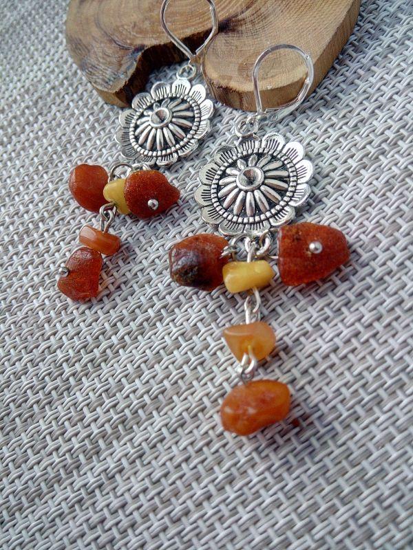 Янтарное настроение Оранжевый Необработанный янтарь, би Кравчук Раиса - фото 1
