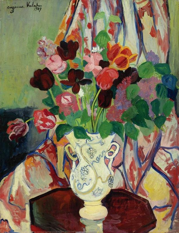 Букет тюльпанов  печать на холсте, натянут Валадон Сюзанна - фото 1