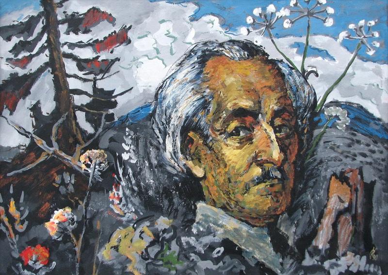 """""""Портрет Р. Сельського""""  искусственное дерево, тем Крохмалюк Александр - фото 1"""