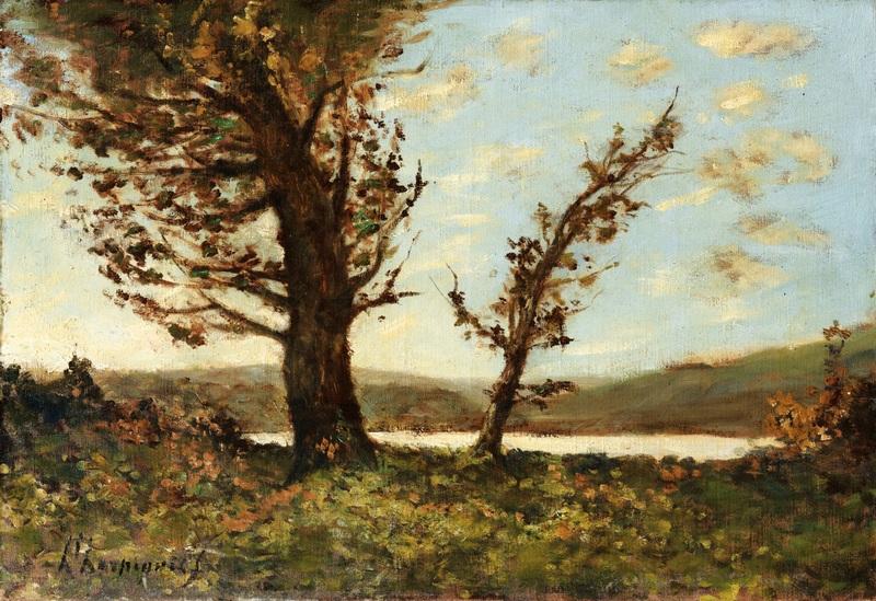 Большое дерево  печать на холсте, натянут Арпиньи Анри Жозеф - фото 1