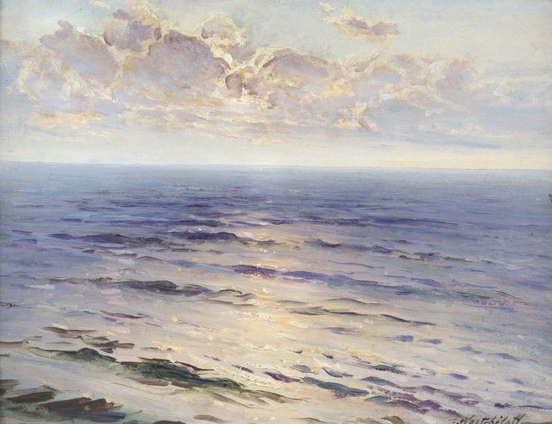 Морской пейзаж  печать на холсте, натянут Вещилов Константин - фото 1