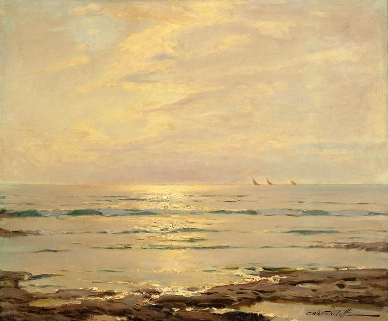 Морской пейзаж №2  печать на холсте, натянут Вещилов Константин - фото 1