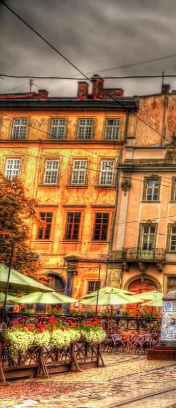 Площадь Рынок во Львове №1  печать на холсте, натянут UkrainArt - фото 2