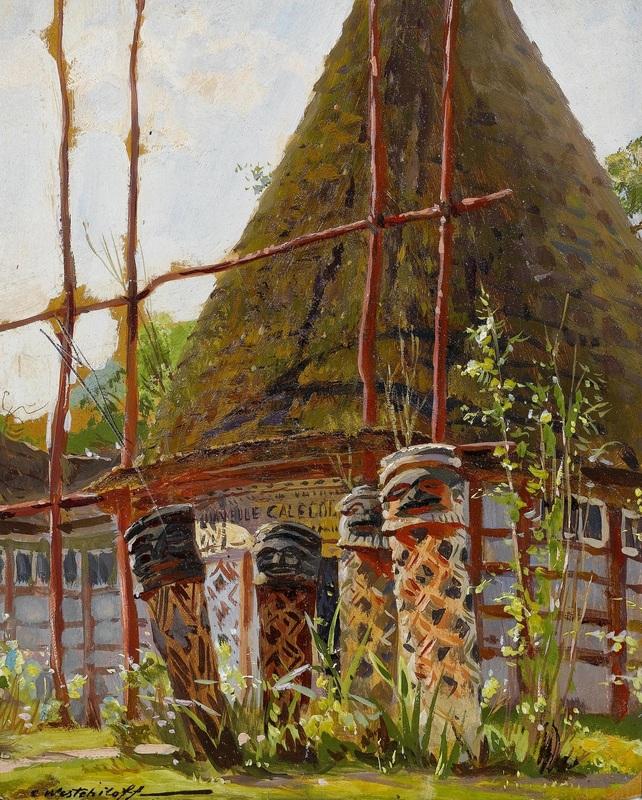 Новая Каледония  печать на холсте, натянут Вещилов Константин - фото 1