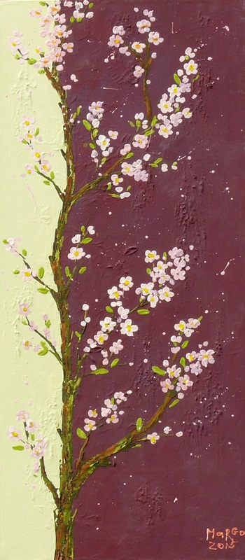 Яблоня  холст, масло, акрил Громенко Марина - фото 1