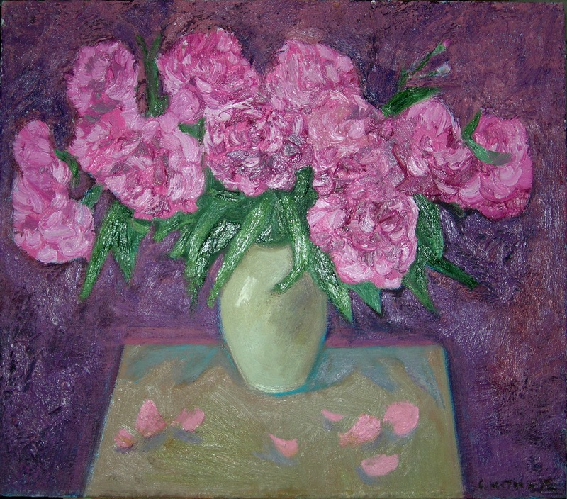 Розовый натюрморт №2  холст, масло Сыпняк Петр - фото 1